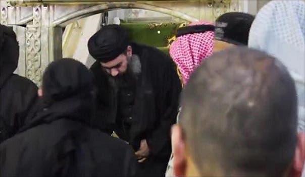 البغدادي في الموصل(أرشيفية)