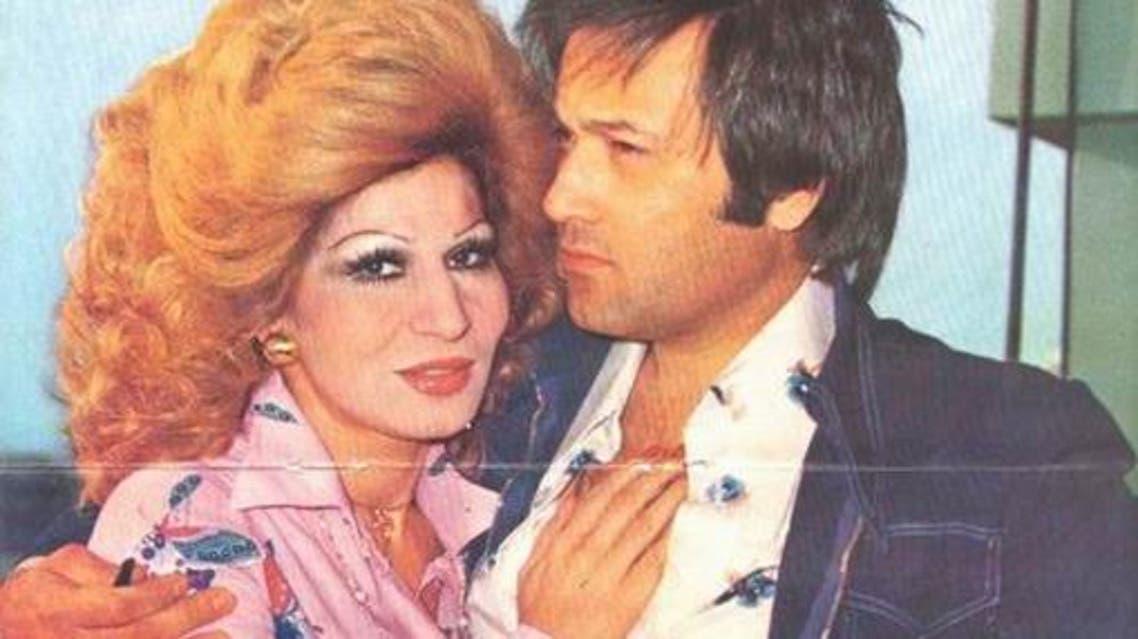 فايزة أحمد وزوجها محمد سلطان