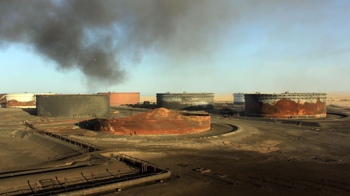 ras lanuf libya oil AFP
