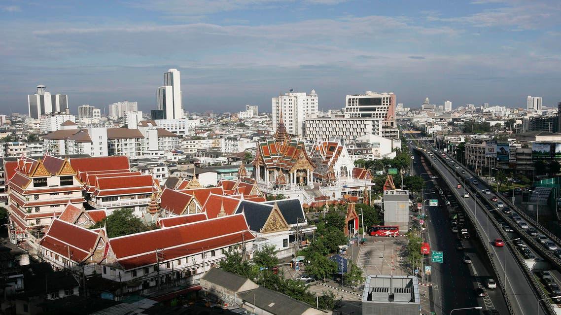 Bankok city. AP