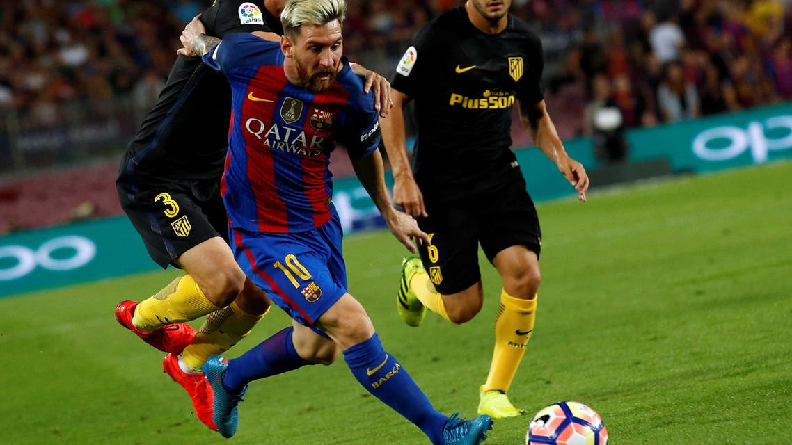 Barcelona lost Lionel Messi to injury and a chance to beat a title rival on Wednesday. (Reuters)