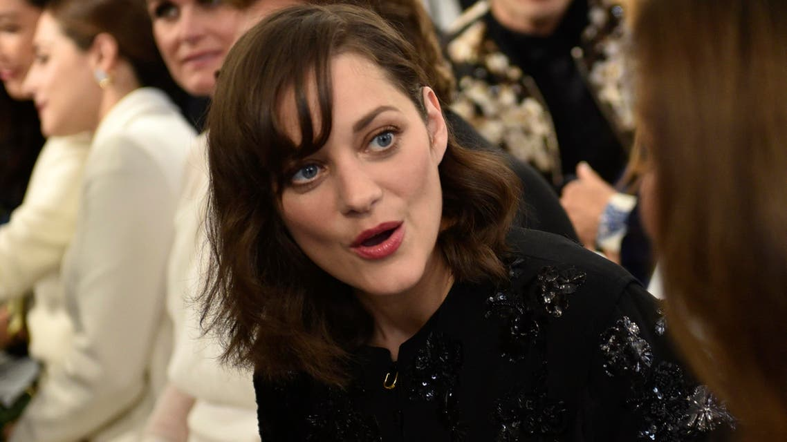 """Marion Cotillard said that she is """"not used to commenting on things like this nor taking them seriously. (AP)"""