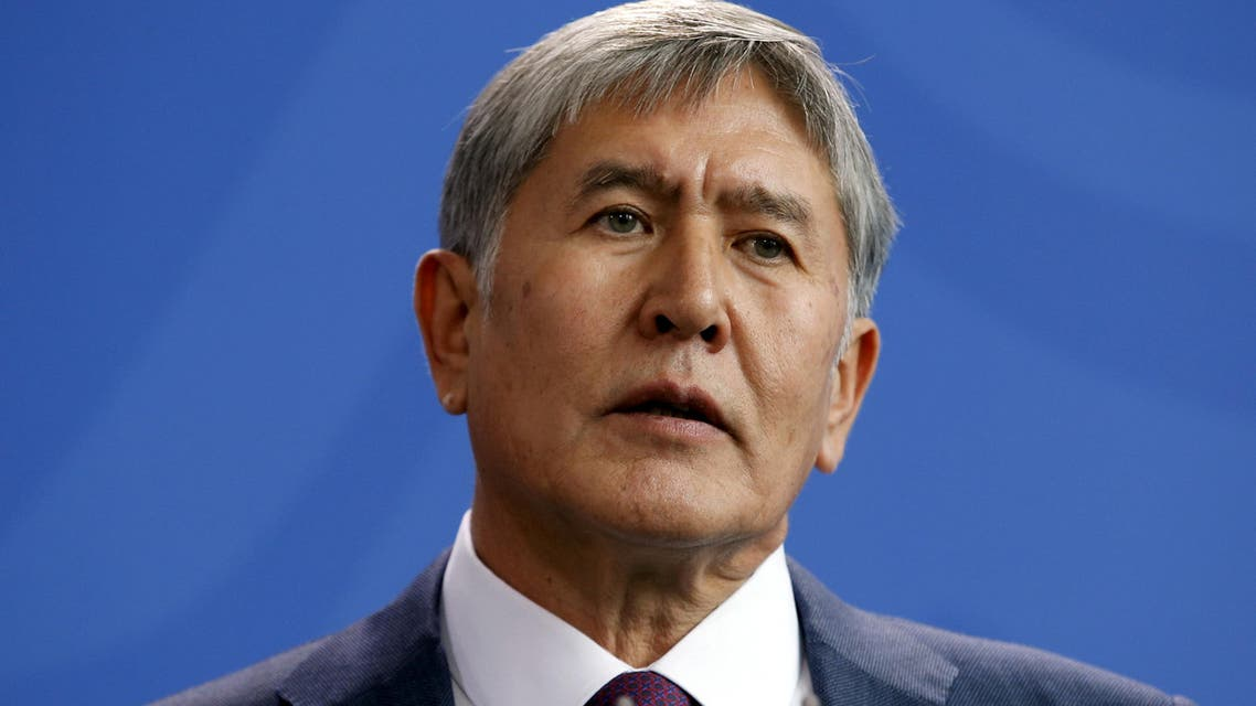 "Atambayev, 60, was stopping off in Istanbul en route to the United Nations General Assembly in New York when he was hospitalized following complaints of ""chest pains"". (Reuters)"