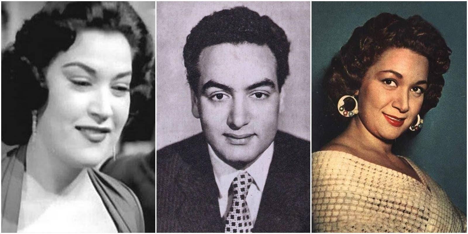 محمد فوزي وشقيقته هدى سلطان وهند علام