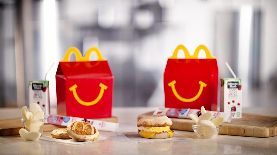 A breakfast Happy Meal. McDonald's is considering another addition to its all-day breakfast menu: Happy Meals. (Photo: McDonalds via AP)