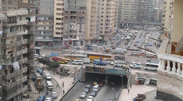 شارع الملك عبدالله من أكبر الشوارع في الإسكندرية