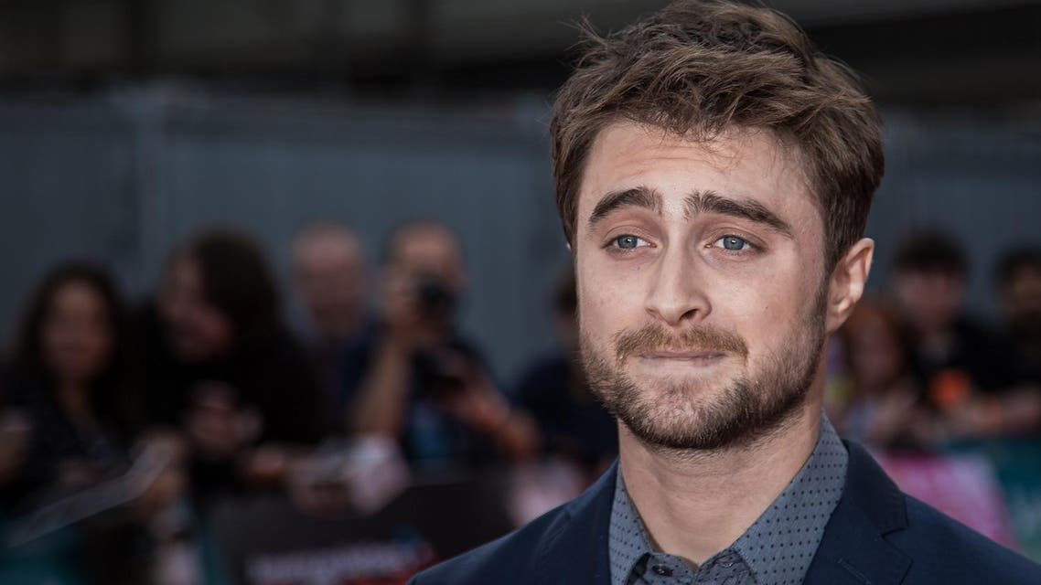 Daniel Radcliffe poses for photographers upon arrival at the Empire Live event, in London, Friday, Sept. 23, 2016. AP