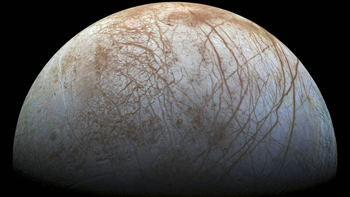 Many experts believe Jupiter's icy moon Europa could contain a subsurface ocean, even possibly some form of life (AFP