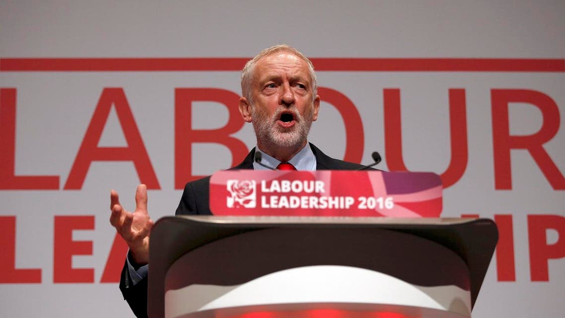 The leader of Britain's opposition Labour Party, Jeremy Corbyn, speaks after the announcement of his victory in the party's leadership election, in Liverpool, Britain Sept. 24, 2016. (Photo: Reuters/Peter Nicholls)