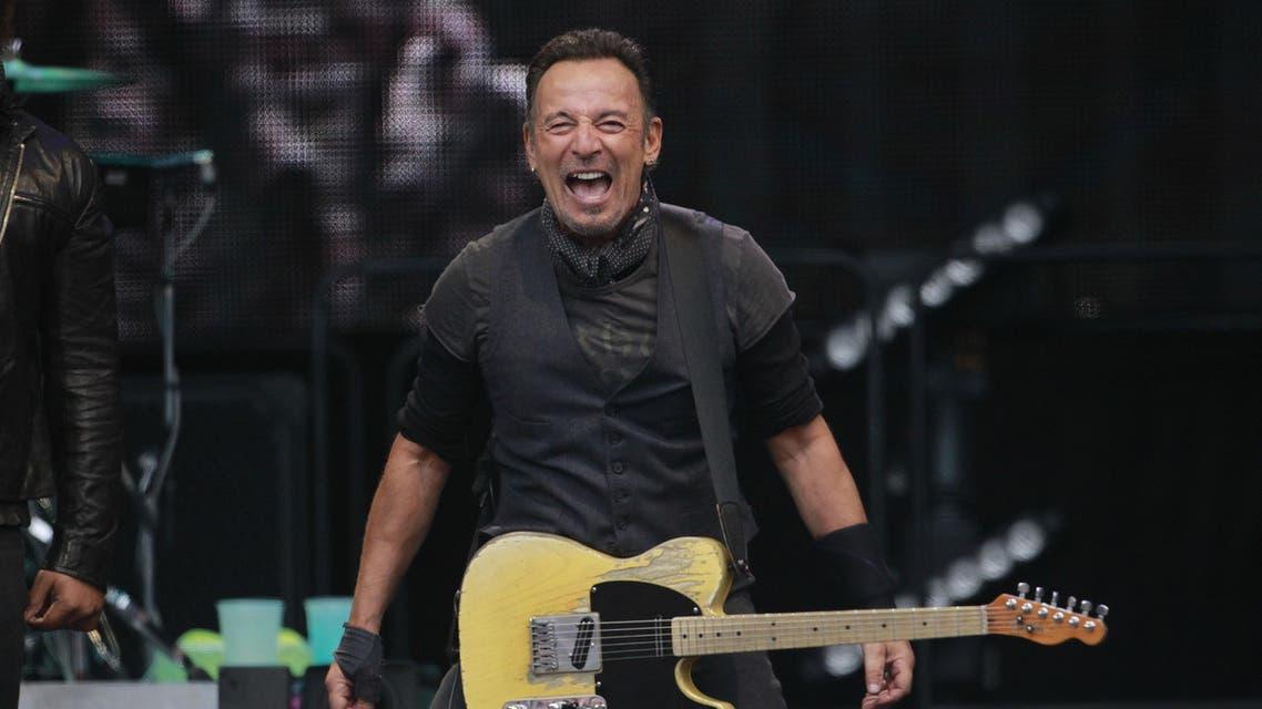 U.S. singer Bruce Springsteen performs at Croke Park stadium, Dublin, Ireland, Friday, May, 27, 2016. (AP)
