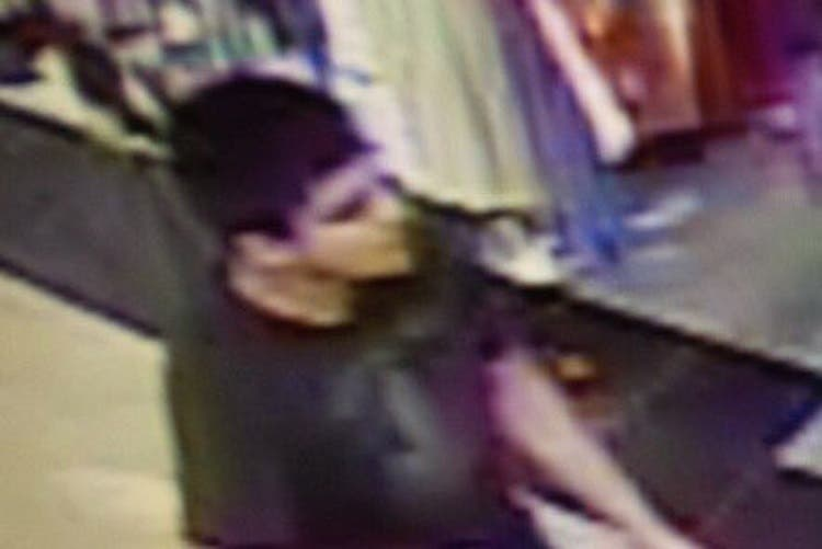 This video image provided by Skagit County Department of Emergency Management shows a suspect wanted by the authorities regarding a shooting at the Cascade Mall in Burlington, Wash., Friday, Sept. 23, 2016. (AP)