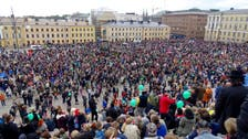 Finns protest against racism after man assaulted at neo-Nazi rally dies