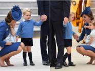 الأمير جورج وشقيقته شارلوت بفيديو وصور خاطفة للأضواء
