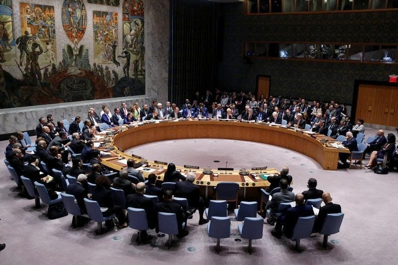 syria security council talks UN reuters