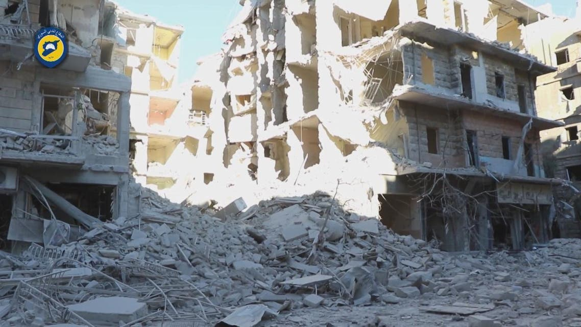 THUMBNAIL_ بأسلحة فتاكة.. روسيا تقصف ملاجئ المدنيين في حلب