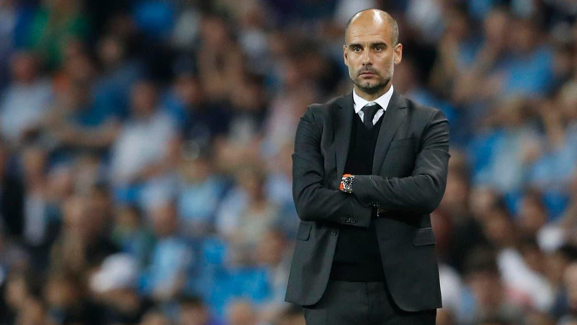 Manchester City manager Pep Guardiola Action Images via Reuters