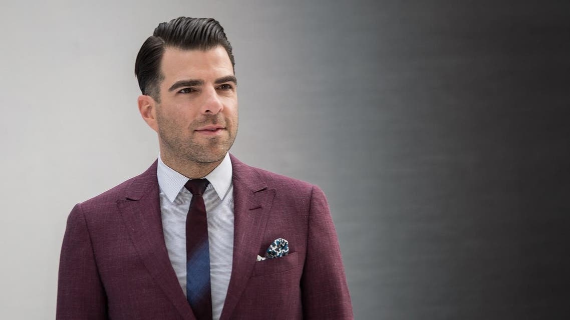 US actor Zachary Quinto poses for photographers upon arrival at the premiere of the film 'Star Trek Beyond' in London, Tuesday, July 12, 2016. (Photo by Vianney Le Caer/Invision/AP)