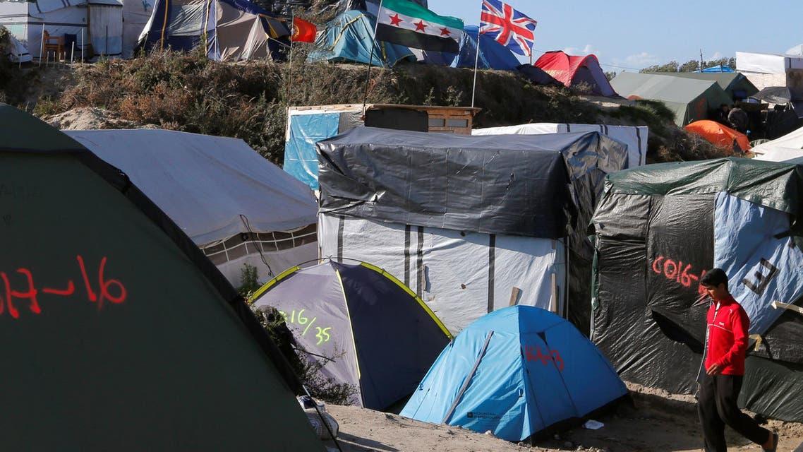 مخيم كاليه للاجئين 3