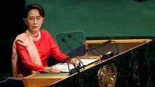 Myanmar's Suu Kyi suffering from exhaustion after long trip