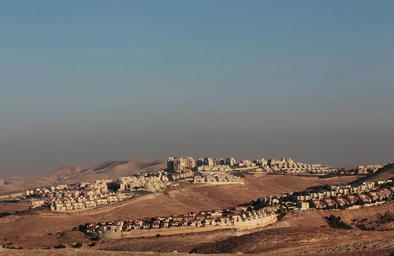 مستوطنة معالي أدوميم الضخمة في الضفة الغربية - رويترز