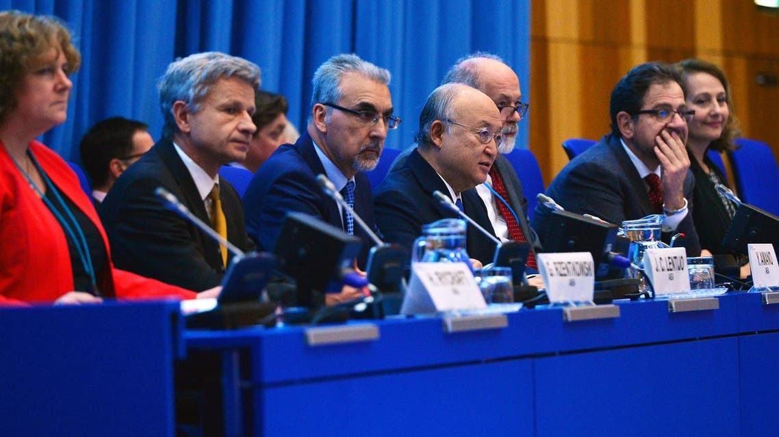 IAEA Director General Yukiya Amano opening remarks at the first day of the conference hosted by the IAEA in Vienna. (Dean Calma / IAEA)