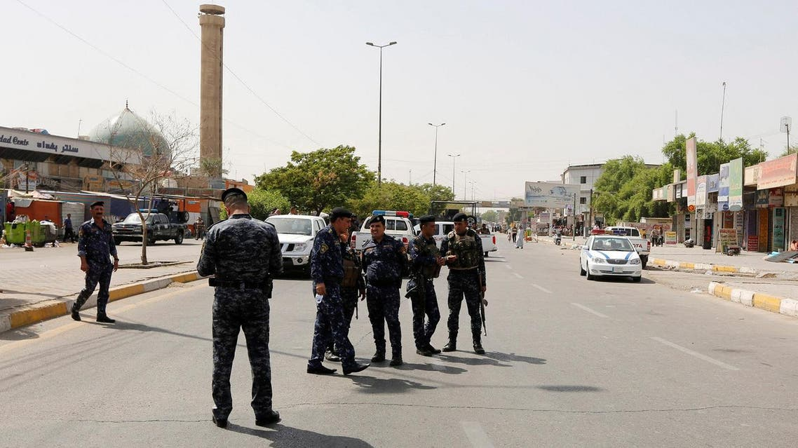 baghdad reuters bombs