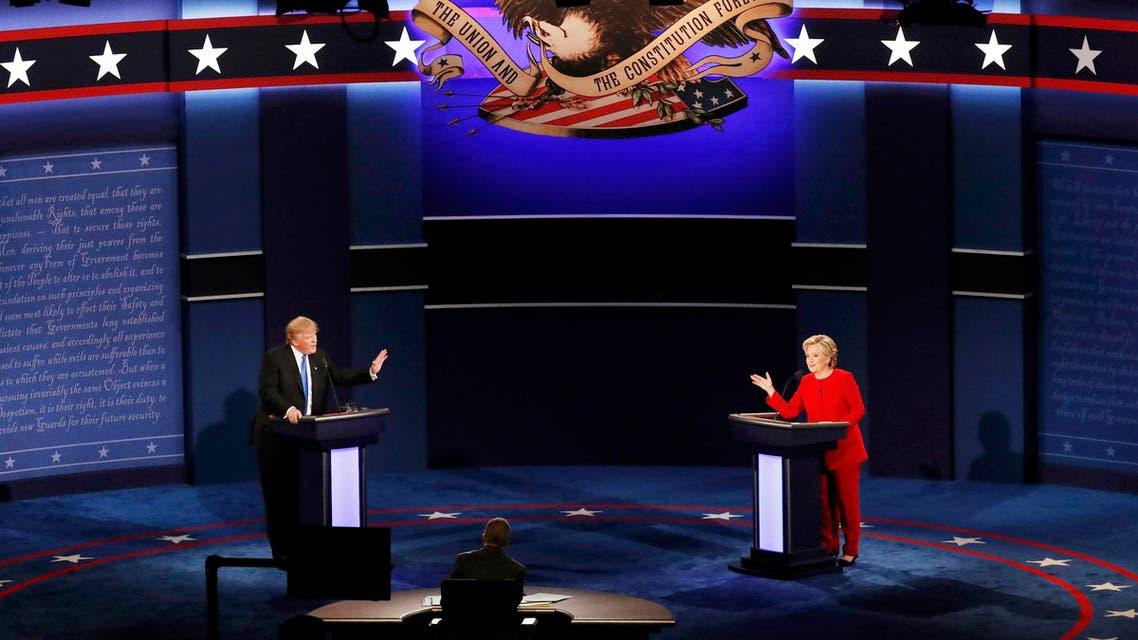 مناظرة هيلاري وترامب