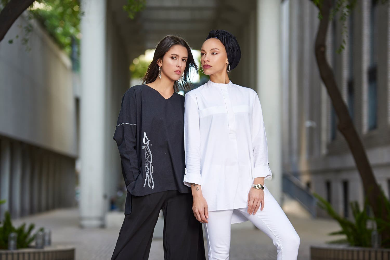 Nabil Pathan Fashion designers who 'Khan': Duo create ethical modest wear