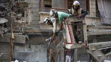 حلب : باغیوں کے زیر قبضہ حصے میں دو بڑے اسپتالوں پر بمباری