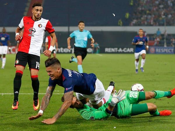 مورينيو يريد تعويض خسارته الأولى أوروبيا مع يونايتد