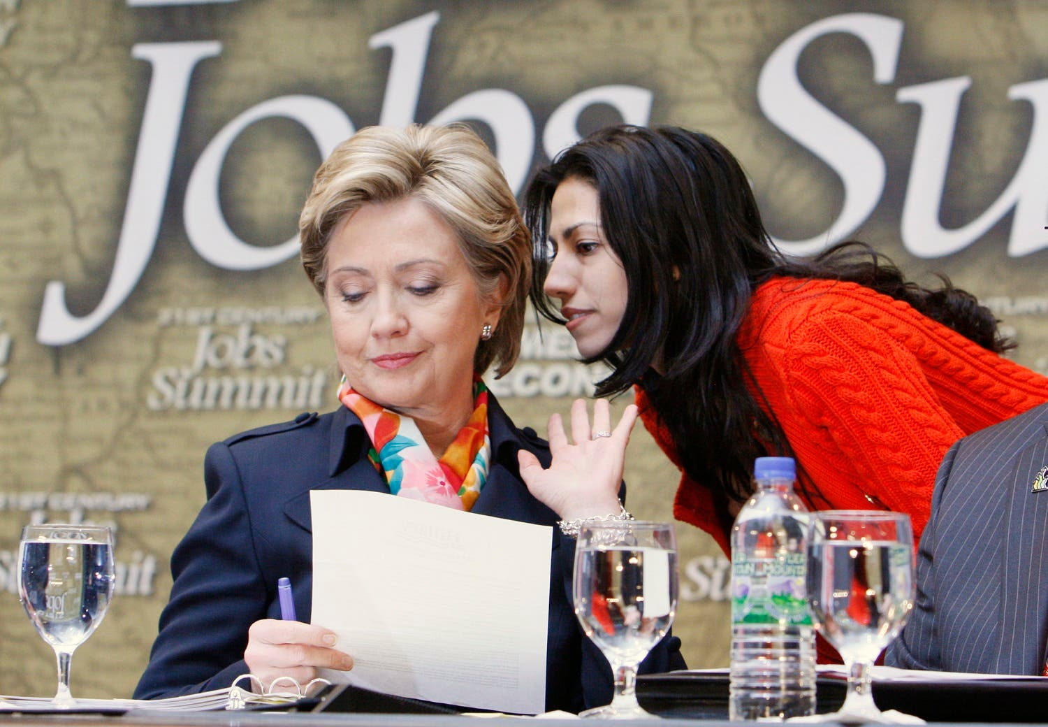 Human Abedin is a long-time aide to US Democratic presidential nominee Hillary Clinton. (AP)