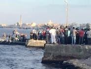 القبض على المتهم الرئيسي بواقعة غرق مركب رشيد