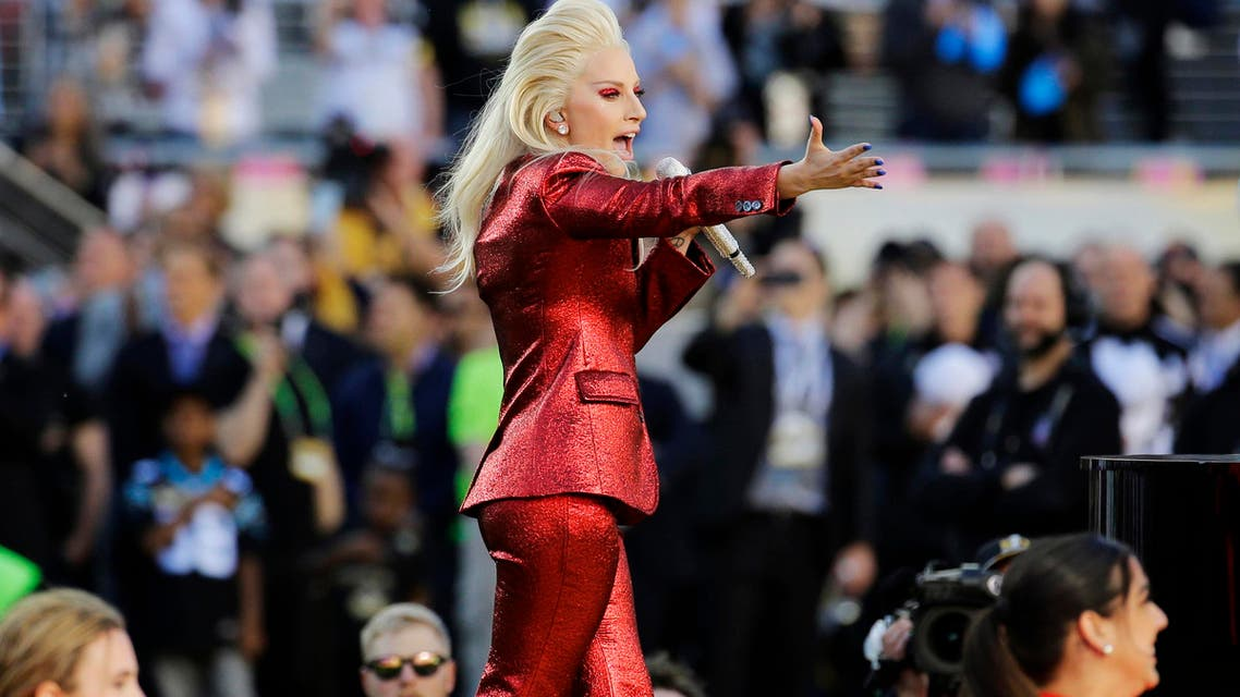 This will be Lady Gaga's second time performing on the Super Bowl stage, after having sang the US national anthem at the NFL's championship game last February in San Francisco. (AP)