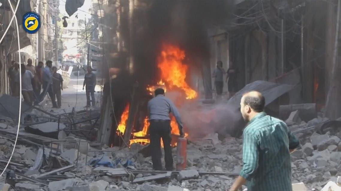 THUMBNAIL_ إدانة أمريكية ألمانية لضربات روسيا ونظام الأسد الوحشية على حلب