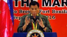 Philippines' Duterte likens himself to Hitler