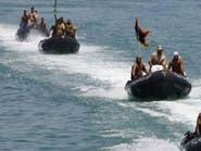 الجيش الليبي يدمر زورقاً على متنه مرتزقة موالون لتركيا