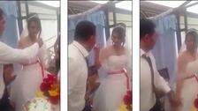 بالفيديو.. العريس لم يتحمل الزواج لأكثر من 15 دقيقة