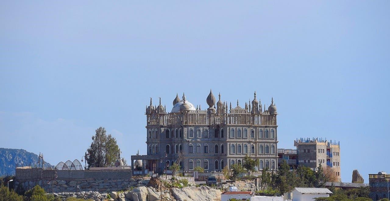 Al-Meqer Palace in Al-Namas (Al Arabiya)