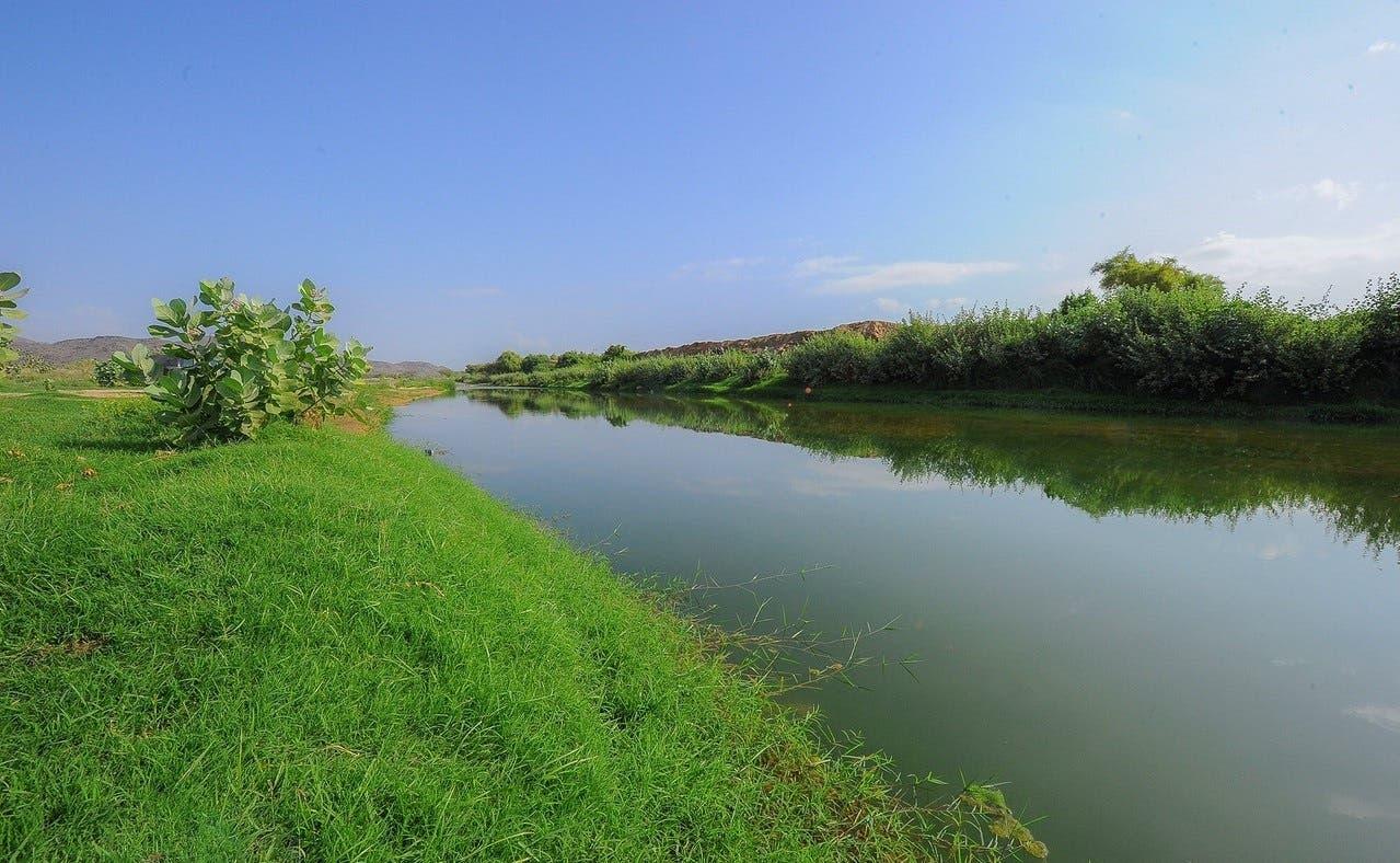 Al-Mojarada valley in Asir province (Al Arabiya)