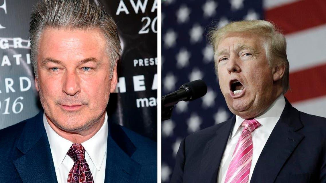 Trump and Alec Baldwin AP files