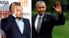Leonardo DiCaprio, Barack Obama talk climate change