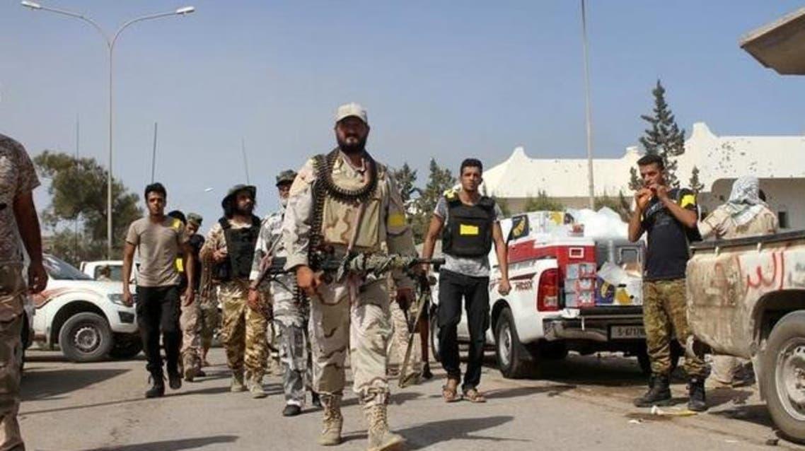 القوات الليبية في سرت