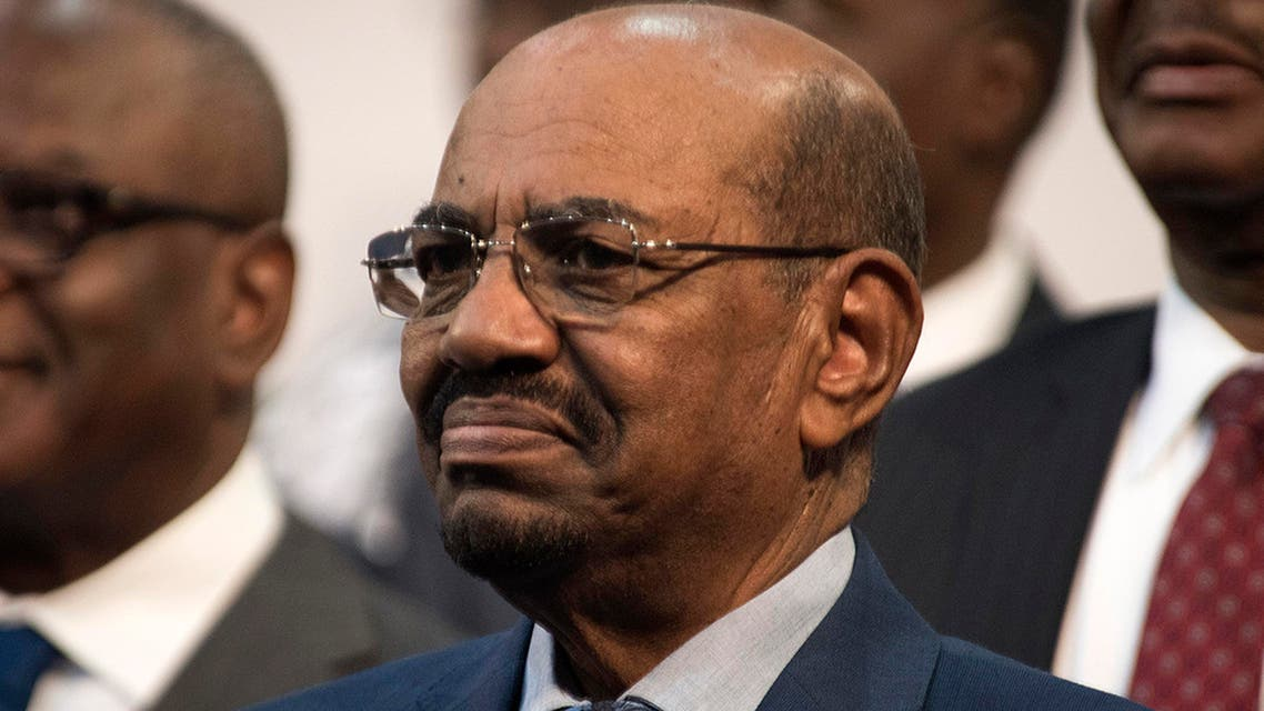 Sudanese President Omar al-Bashir is seen during the opening session of the AU summit in Johannesburg, Sunday, June 14, 2015. (AP)