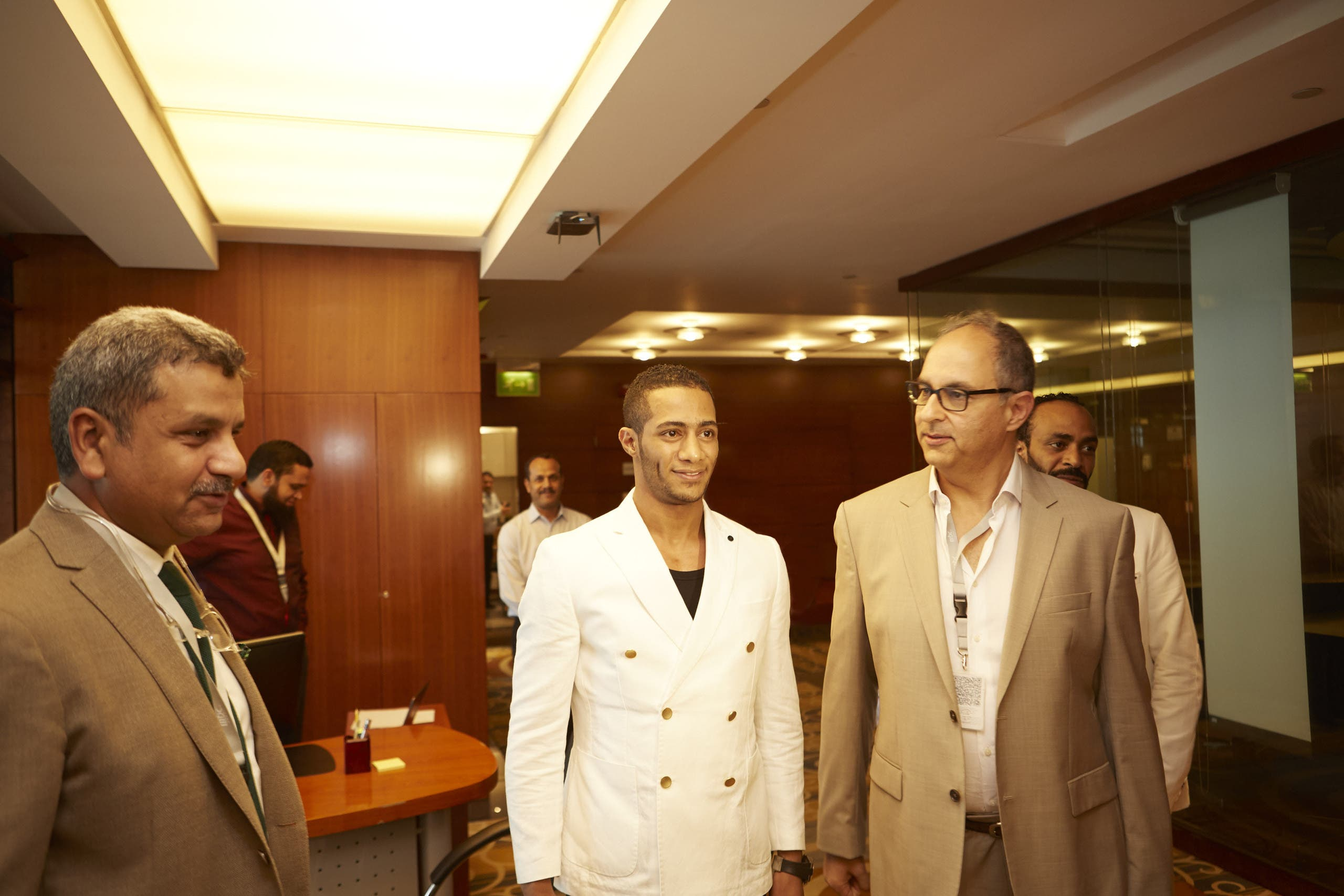 فادي إسماعيل ومحمد رمضان ومحمد عبدالمتعال