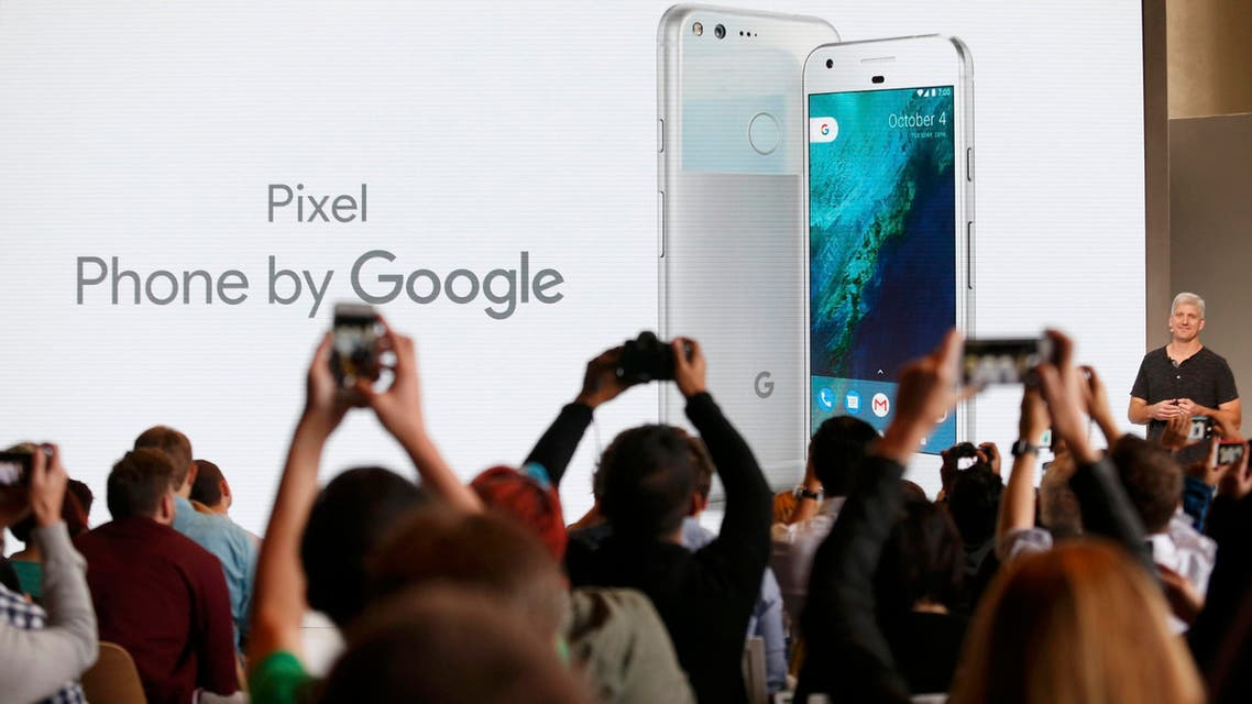 Rick Osterloh, SVP Hardware at Google, introduces the Pixel Phone by Google during the presentation of new Google hardware in San Francisco, California, U.S. October 4, 2016. (Reuters))