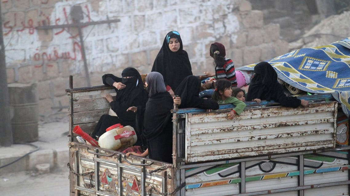 حلب - نازحون 3