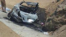Six-member family killed in a tragic car accident in Saudi