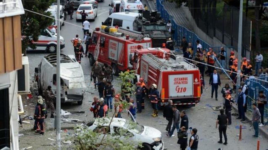 دراجة نارية مفخخة في اسطنبول