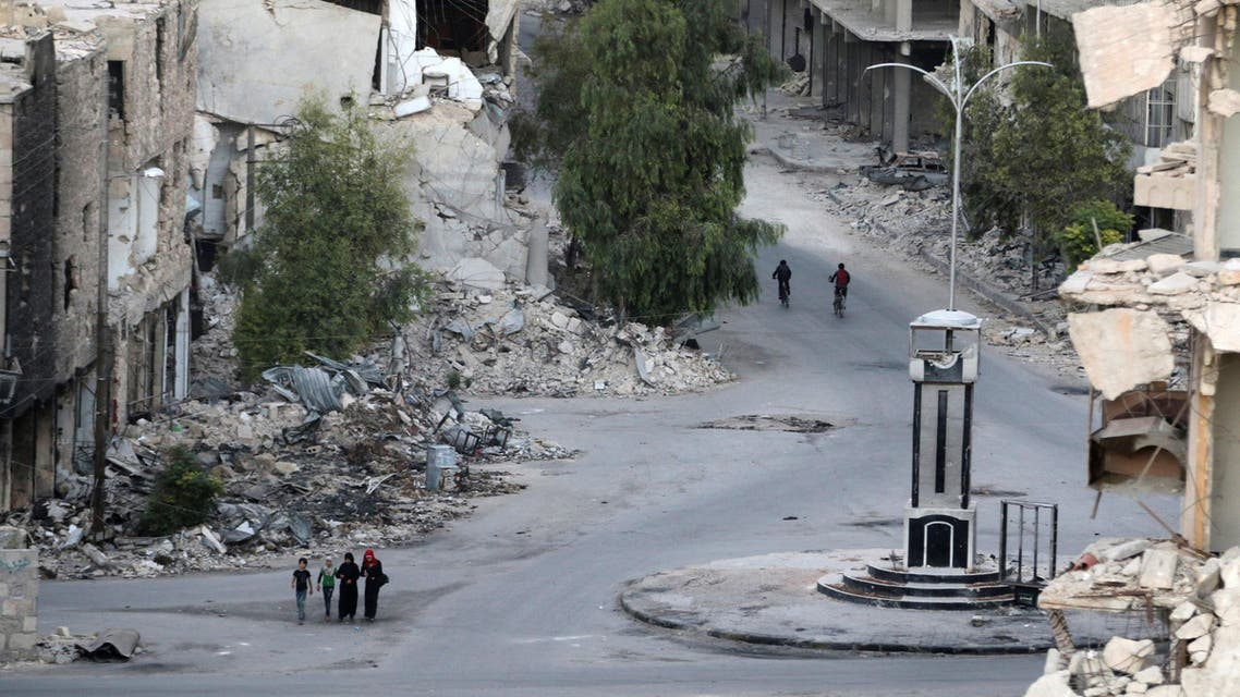 aleppo reuters destroyed