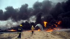 Iraqi Qayyara oil keeps burning six weeks after ouster of ISIS